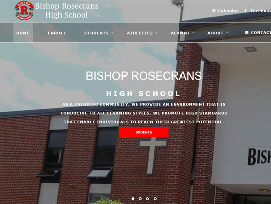 Bishop Rosecrans High School Zanesville Ohio iTrack