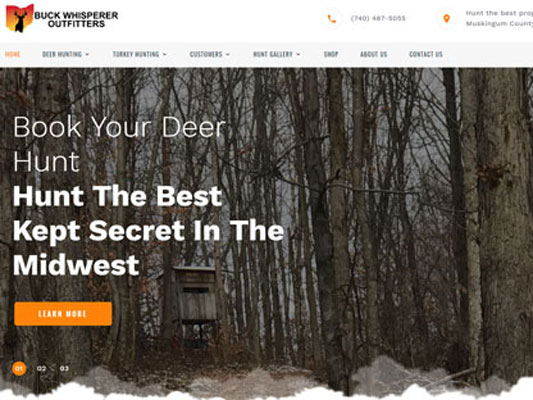 Buck Whisperer Outfitters Muskingum County Ohio iTrack