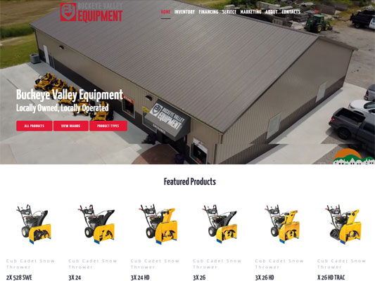 Buckeye Valley Equipment Hebron Ohio iTrack llc