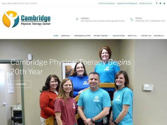 Cambridge Physical Therapy Center iTrack llc