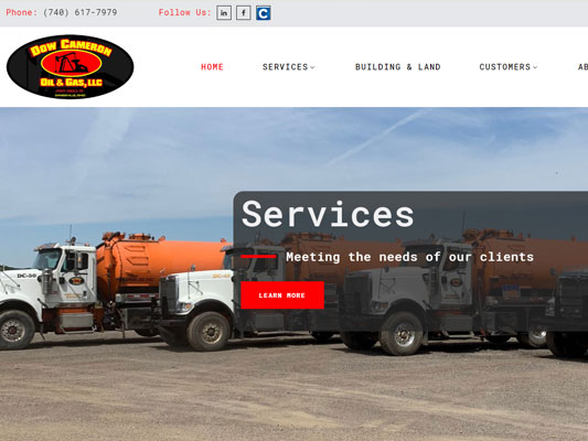 Dow Cameron Oil Gas Services Zanesville Ohio iTrack