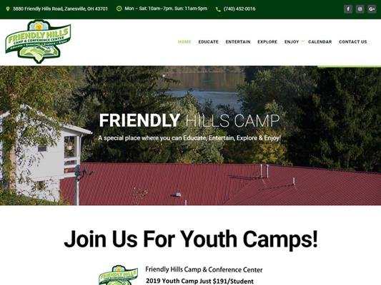 Friendly Hills Camp Ohio iTrack llc