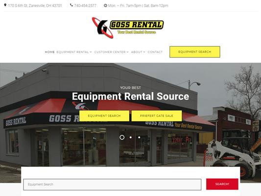 Goss Rental Supply iTrack llc