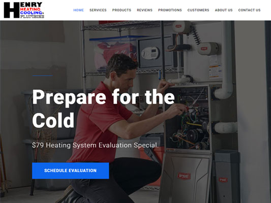 Henry Heating Cooling Services Dover Ohio iTrack llc