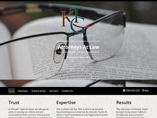 Kincaid Taylor Geyer Attorneys Zanesville Ohio iTrack llc