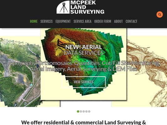 McPeek Land Surveying Mapping iTrack llc