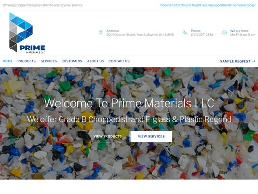 Prime Materials LLC Cambridge Ohio iTrack llc