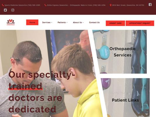 Sports Medicine Zanesville Ohio iTrack llc