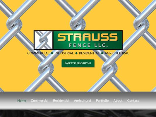 Strauss Fence New Concord Ohio iTrack llc