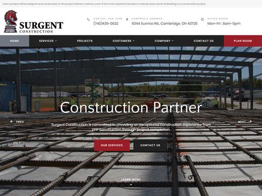 Surgent Construction Cambridge Ohio iTrack llc