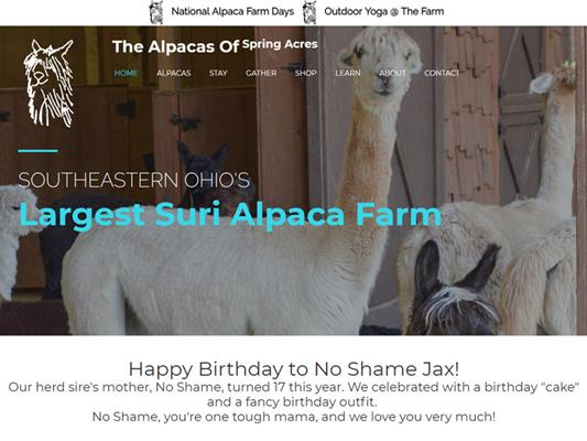 The Alpacas Of Spring Acres iTrack Project