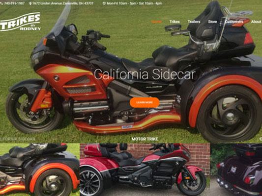 Trikes By Rodney Custom Motorcycle Trike Building Company