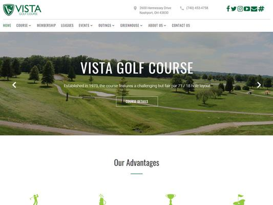 Vista Golf Course Public iTrack llc