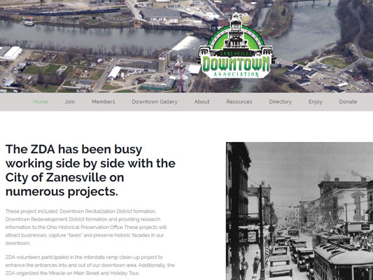Zanesville Downtown Association iTrack