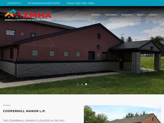Zanesville Municipal Housing Authority iTrack llc